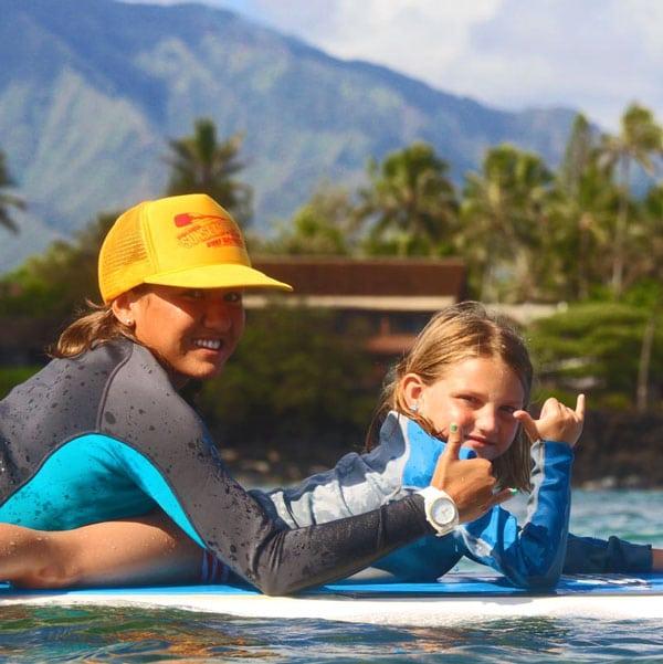 Mia Suratt Surf Instructor Oahu North Shore